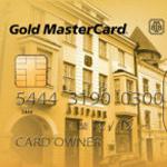 Фрагмент банковской карточки Таллинского Бизнес-банка.