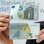 2 мая в Эстонии и других странах еврозоны в обращение поступит новая 5-евровая купюра.