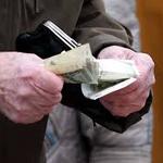 За последние неделе в Раквере была трижды зафиксирована оплата 100-евровыми сувенирными деньгами.
