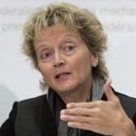 Министр финансов Швейцарии Эвелин Видмер-Шлюмпф.
