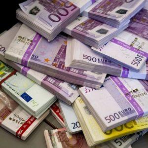Пять миллионов евро. Фото: pixabay.ee.