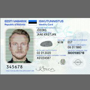 ID-карта нового образца. Источник фото: Politsei.ee.