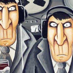 Кремль слушает. Автор: Вася Ложкин.